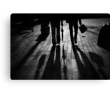 walk@night Canvas Print