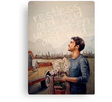 Restless and Loud Canvas Print