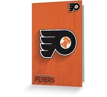 Philadelphia Flyers Minimalistic Print Greeting Card