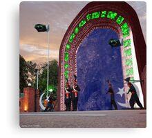 Wagah Stargate Canvas Print