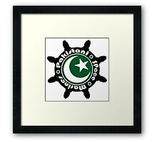 Pakistani Space Marines Badge Framed Print