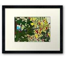 The Only Way Out of the Fire is Through the Fire Framed Print