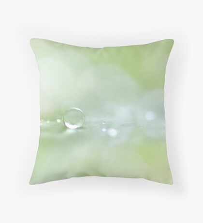 i am but a drop in a boundless sea... Throw Pillow