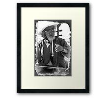 Sydney busker's Framed Print