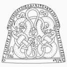 Swedish Runestone by Zehda