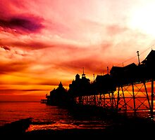 Eastbourne Pier  by Paul Morris