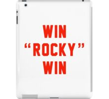 Win Rocky Win iPad Case/Skin
