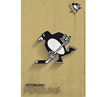 Pittsburgh Penguins Minimalistic Print Photographic Print