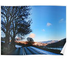 On the Road to Grasmere Poster