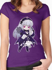 Chibi Suigintou Women's Fitted Scoop T-Shirt
