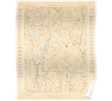 Maine USGS Historical Map Gray 306588 1898 62500 Poster