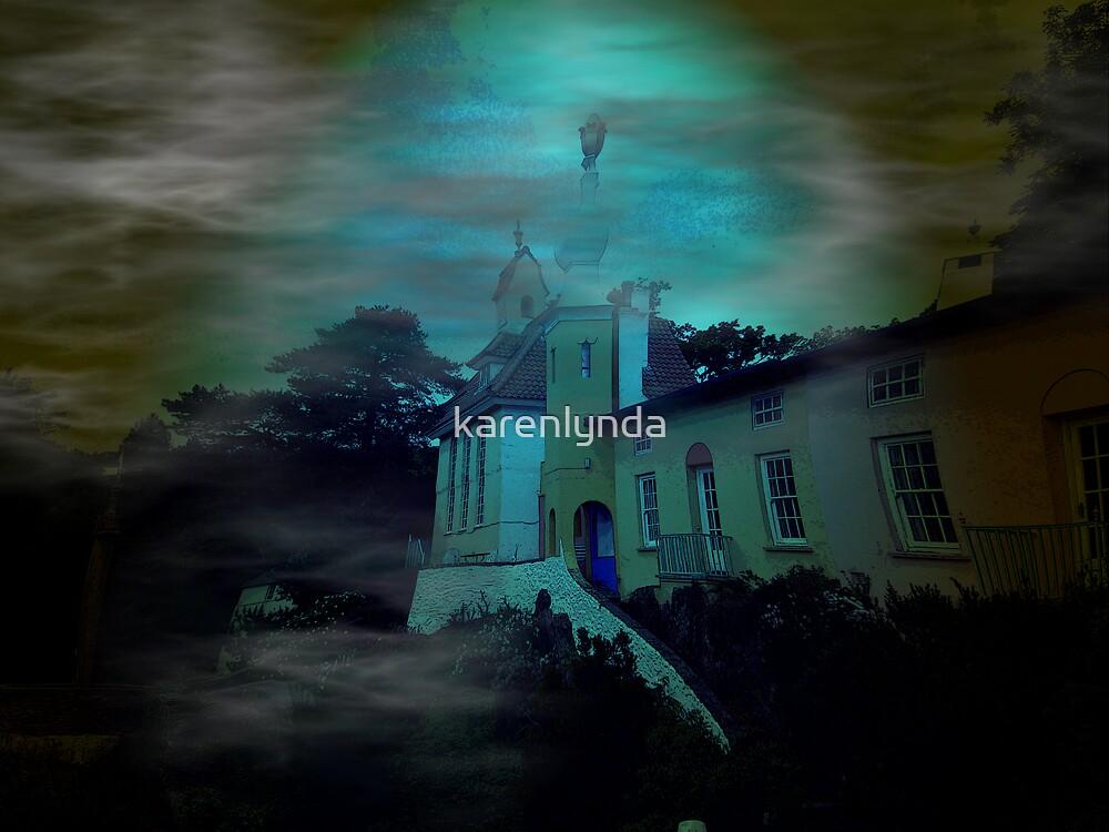 Haunted Village by karenlynda
