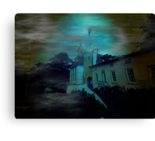 Haunted Village Canvas Print