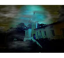 Haunted Village Photographic Print