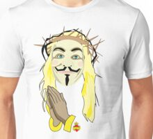 jesus supports anonymous Unisex T-Shirt