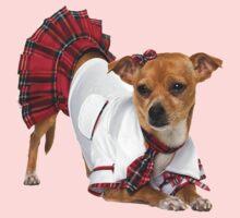 Dog in skirt Kids Tee