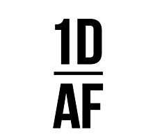 1D AF PHONE CASE by Yireen Alberto