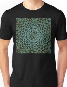 Attractive Peacock Feathers Kaleidoscope Unisex T-Shirt