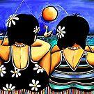 Sisters Fishing by © Karin Taylor