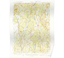Maine USGS Historical Map Gray 460445 1944 62500 Poster