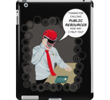PR:Public Resources iPad Case/Skin