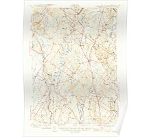 Maine USGS Historical Map Gray 460446 1944 62500 Poster