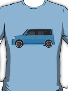 Vectored Boxcar Blue T-Shirt