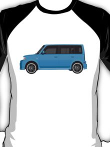 Vectored Boxcar Blue T-Shirt