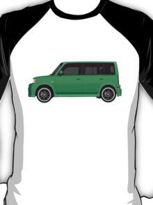 Vectored Boxcar Green T-Shirt