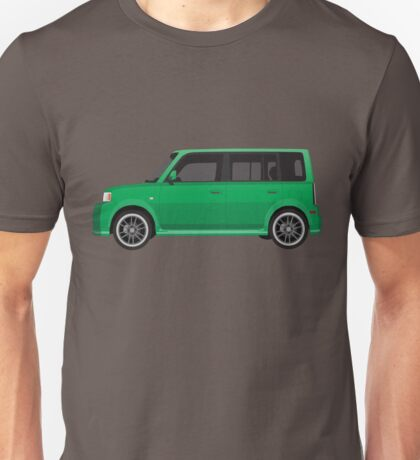 Vectored Boxcar Green Unisex T-Shirt