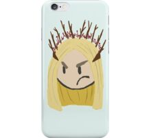 Displeased Thranduil iPhone Case/Skin