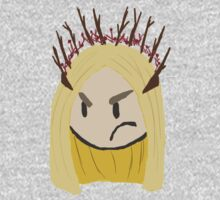 Displeased Thranduil by madderhattermeg