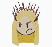 Displeased Thranduil Kids Clothes
