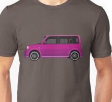 Vectored Boxcar Purple Unisex T-Shirt