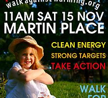Walk Against Warming Sydney 2008 by Erland Howden