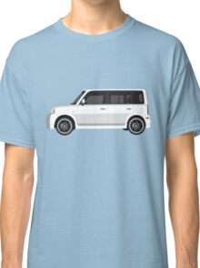 Vectored Boxcar White Classic T-Shirt