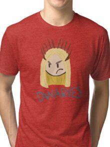 Thranduil: D W A R V E S Tri-blend T-Shirt