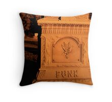 The Day Funk Died Throw Pillow