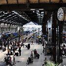 Gare de Lyon by Karen E Camilleri