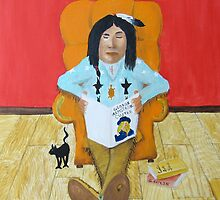 Custer's Cat by patrick trotter