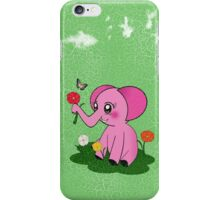 Pinky Elephant iPhone Case/Skin