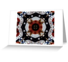 The Red White and Blue  Greeting Card