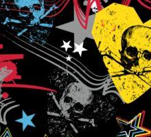 skull rock Sticker