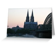 Cologne Cathedral, Koln, Germany Greeting Card