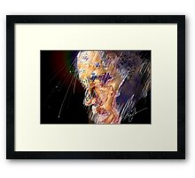 Obama The Edge of Glory Framed Print