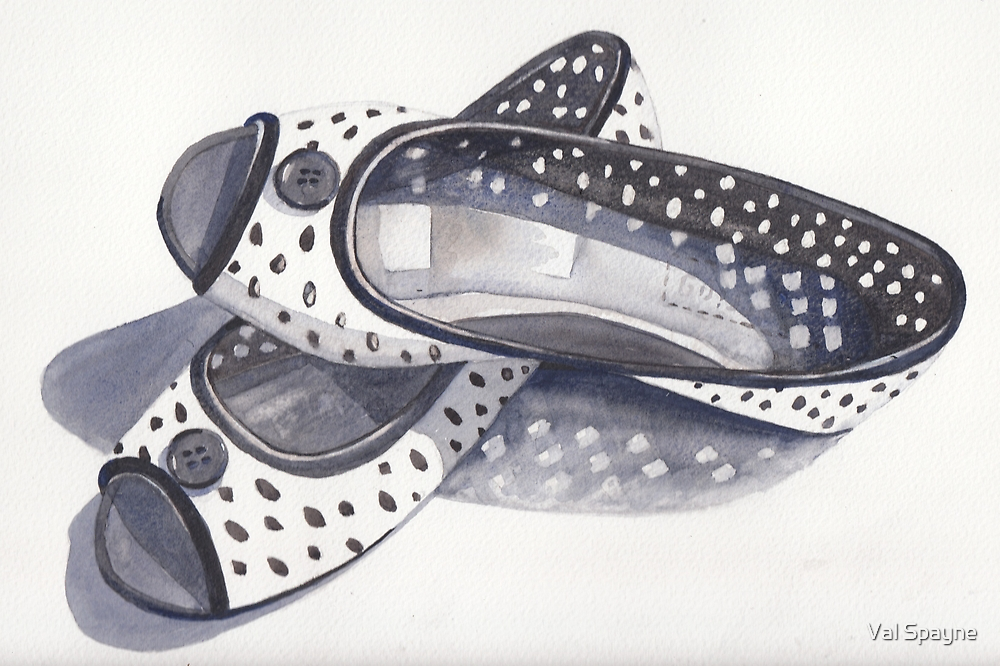 New Shoes by Val Spayne