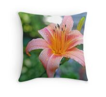 A Single Lilly Throw Pillow