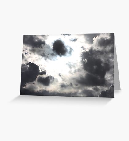 Rain Clouds in the Sky Greeting Card