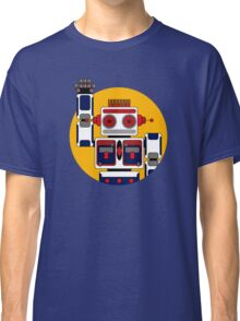 Robot Says Hello Classic T-Shirt