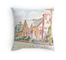 Departures and Arrivals II Throw Pillow